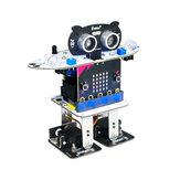 XIAO R Micro: bit Programa Evitación de obstáculos Voz Toque Control de sacudidas Baile Smart RC Robot