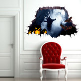 Miico 1101 Halloween Sticker Horror Hand Sticker Wall Sticker Halloween Decoration
