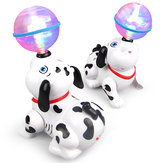 Electronic Dancing Dog Puppy Dog Projection Disco Lights Music Sound Toddler Toys For Children