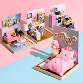 Cuteroom BT Corner of Happiness Series DIY Cabin Doll House Gift Collection Ozdoba