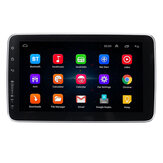 9 polegadas 1 DIN para Android Car Audio Stereo Screen ajustável MP5 Player 4 Core 1 + 16G / 2 + 32G WI-FI GPS FM