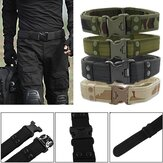 130CM Mens Outdoor Military Durable Canvas Belt