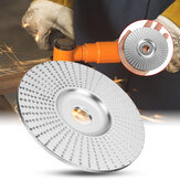 100x16mm Chrome Wood Carving Disc Grinding Wheel Sanding Abrasive Disc for Angle Grinder