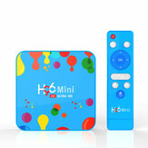 H96 Mini H6 Allwinner H6 4 GB RAM 128 GB ROM 5G WIFI bluetooth 4.0 Android 9.0 4 K 6 K TV Kutu