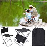 ZANLURE 2 in 1 pieghevole TORCIA sedia campeggio Picnic Beach Seat Sgabello portatile