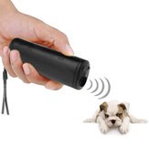 3 in 1 Anti Barking Stop Bark Ultrasone hond Repeller trainingsapparaat Pet Trainer met LED