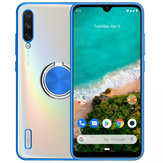 Bakeey Plating Transparent Ultra-thin with Finger Ring Holder Shockproof PC Protective Case for Xiaomi Mi A3 / Xiaomi Mi CC9e