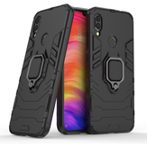 Bakeey Armor Magnetic Card Holder Shockproof Protective Case For Xiaomi Redmi Note 7 / Redmi Note 7 PRO