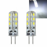 Kingso G4 3014 SMD 1.5W Non-dimmable Pure White LED Light Bulb for Car Boat Chandelier Indoor Use DC12V