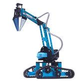 TongLi K4 DIY 3-Gripper Metal RC Robot Arm With Controller