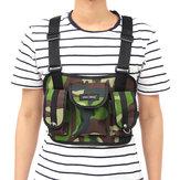 Nylon Tactical Chest Bag Crossbody Bag Camping Hunting Shoulder Bag