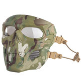 WoSporT Skull Airsoft Paintball Mask Full Face Tactical Halloween Party Mask