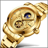 TEVISE T843B Dragon Design Automatic Mechanical Watches