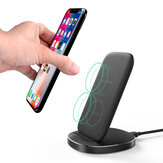 BlitzWolf® BW-FWC6 10W 7.5W 5W Dual Coils Qi Wireless Fast Charger Stand Holder for iPhone 11 Pro XR X for Samsung S9 S10 for Xiaomi Huawei