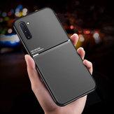 BakeeyMagnetycznaantypoślizgowaskórzanateksturaTPU Odporny na wstrząsy futerał ochronny do Samsung GalaxyNote10/GalaxyNote 10 5G