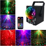 18W LED RGB Stage proiettore Light lampada DJ Club Disco Party con controllo remoto
