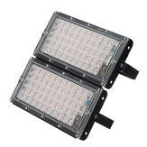 Full Spectrum 100 LED Grow Light Flood Lighting Lámpara para plantas vegetales y flores