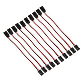 10 x 15cm 60 Cores Servo Extension Wire Cable voor Futaba JR