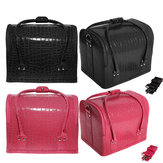Croc Four Level Make-up Vanity Case Nail Art Kosmetische Opbergdoos