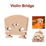 Violin Bridges Fiddle Ahorn Holz Laser Schnitt für 4/4