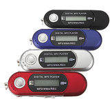 8gb mini mp3 usb lettore musicale lcd unità flash con radio fm