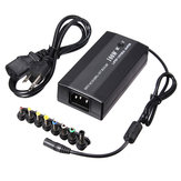 100W Universal AC DC Power Charger Adapter With USB Port & DC Car Plug