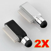 2x penna stilo per iPhone 3 4G iPod Touch iPad tappo antipolvere