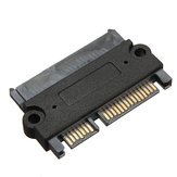 SATA 22Pin 7+15 Pin Male to SATA 22 Pin 7+15P Female Jack Convertor