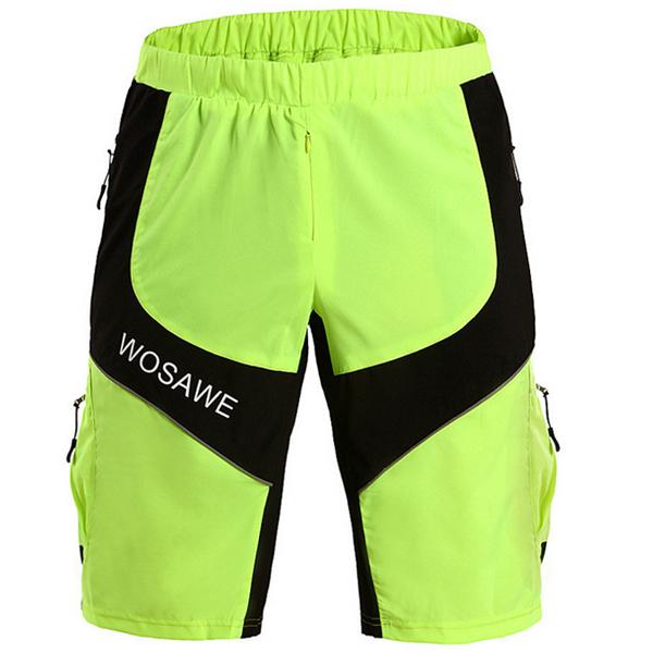 WOSAWE Outdooors Multifunctionele Shorts Sportbroek Waterproof Riding Shorts
