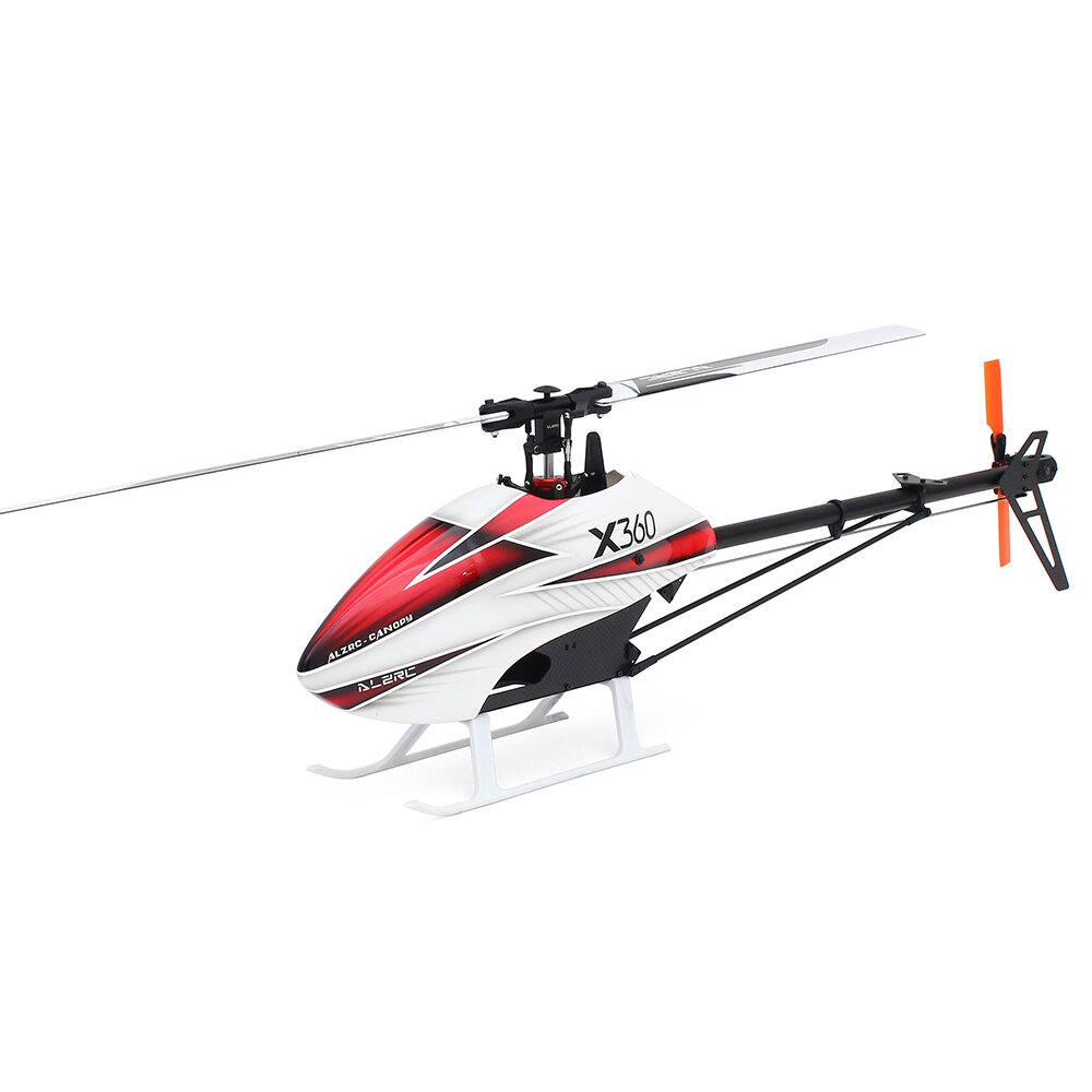 ALZRC X360 Kit FAST FBL 6CH 3D Flying RC elicottero