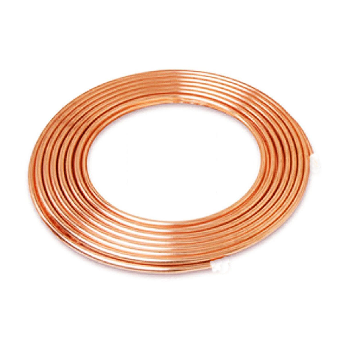 5m 3/8inch Copper Coil Pipe Air Conditioner Tube Refrigeration R410a Pancake HVAC