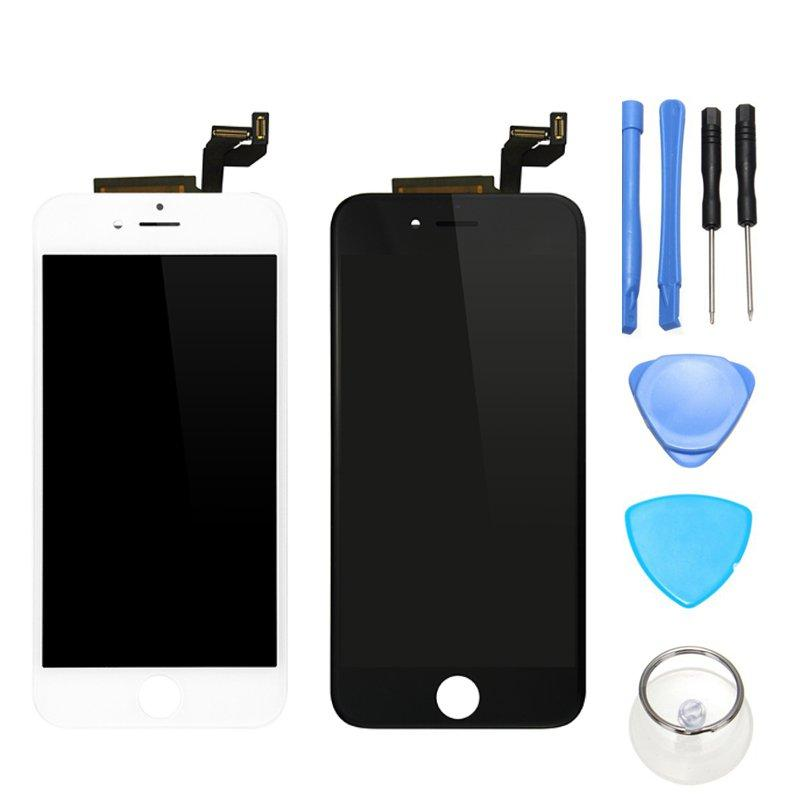 Full Assembly No Dead Pixel LCD Display + Touch Screen Digitizer Replacement + Repair Tools Para iPhone 6s