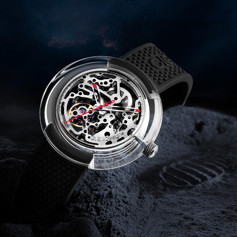 [First Release]Original CIGA Design T Series Fully Transparent Watch Case SEAGULLS Movement Mechanical Watch from Xiaomi Eco-System