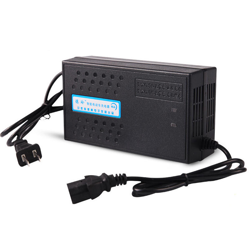 BIKIGHT 72V20AH Portable Intelligent Lead Acid Battery Charger For Electric Bike Bicyle Scooters