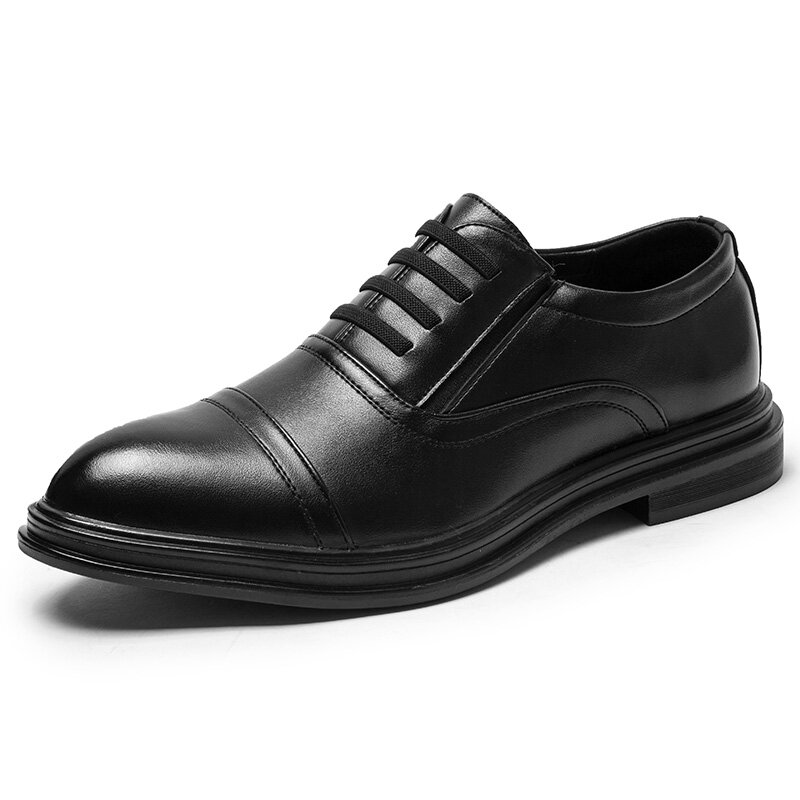 Men Microfiber Dress Shoes Business Casual Oxfords