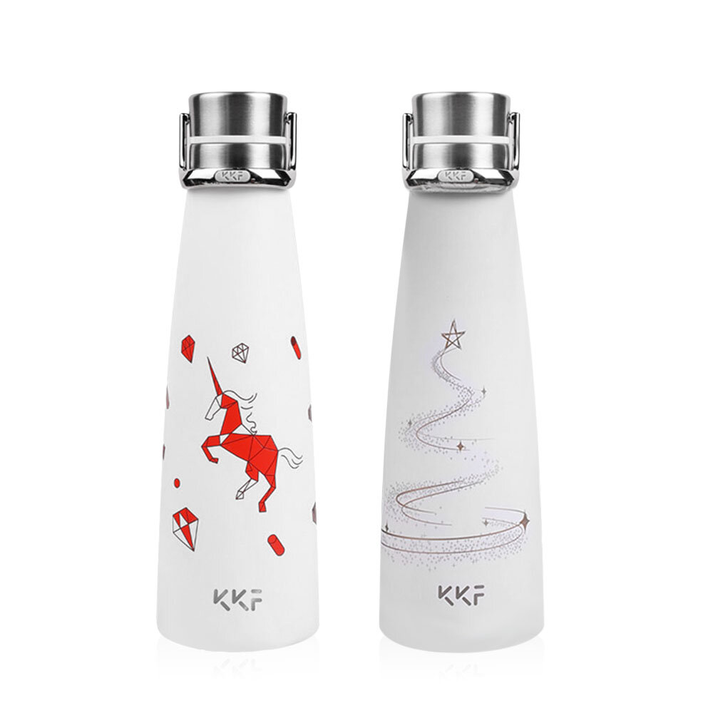 KISSKISSFISH [ Limited ]Smart Vacuum Th-ermos Water Bottle Th-ermos Cup Portable Water Bottles Best Gift Choice From Xiaomi Youpin