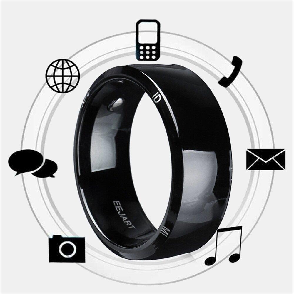 Смарт-кольцо NFC для IOS Android Мобильный телефон с магнитным многофункциональным пальцем для мобильного телефона Windows Mobile Женское