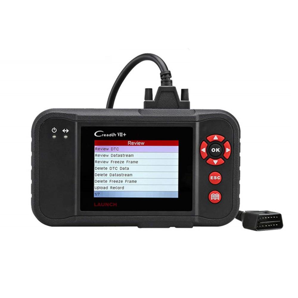 Lancering X431 Creader VII + Auto OBD2 Scanner Auto Diagnostic Scan Tool Code Reader ABS SRS