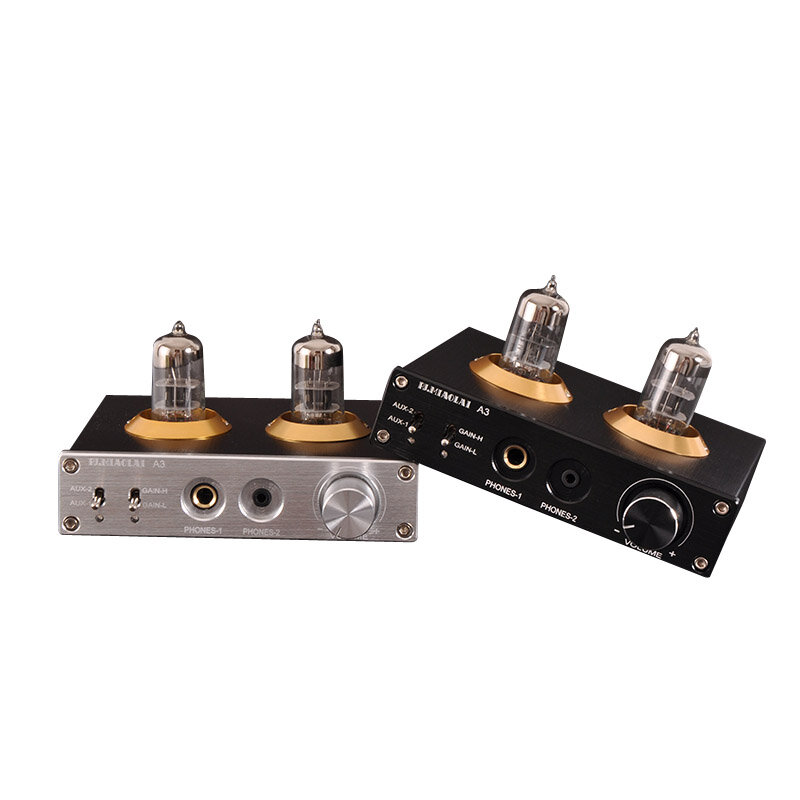PJ.MIAOLAI A3 6N3 Vacuum Tube Treble Bass HIFI Lossless Amplifier Preamp