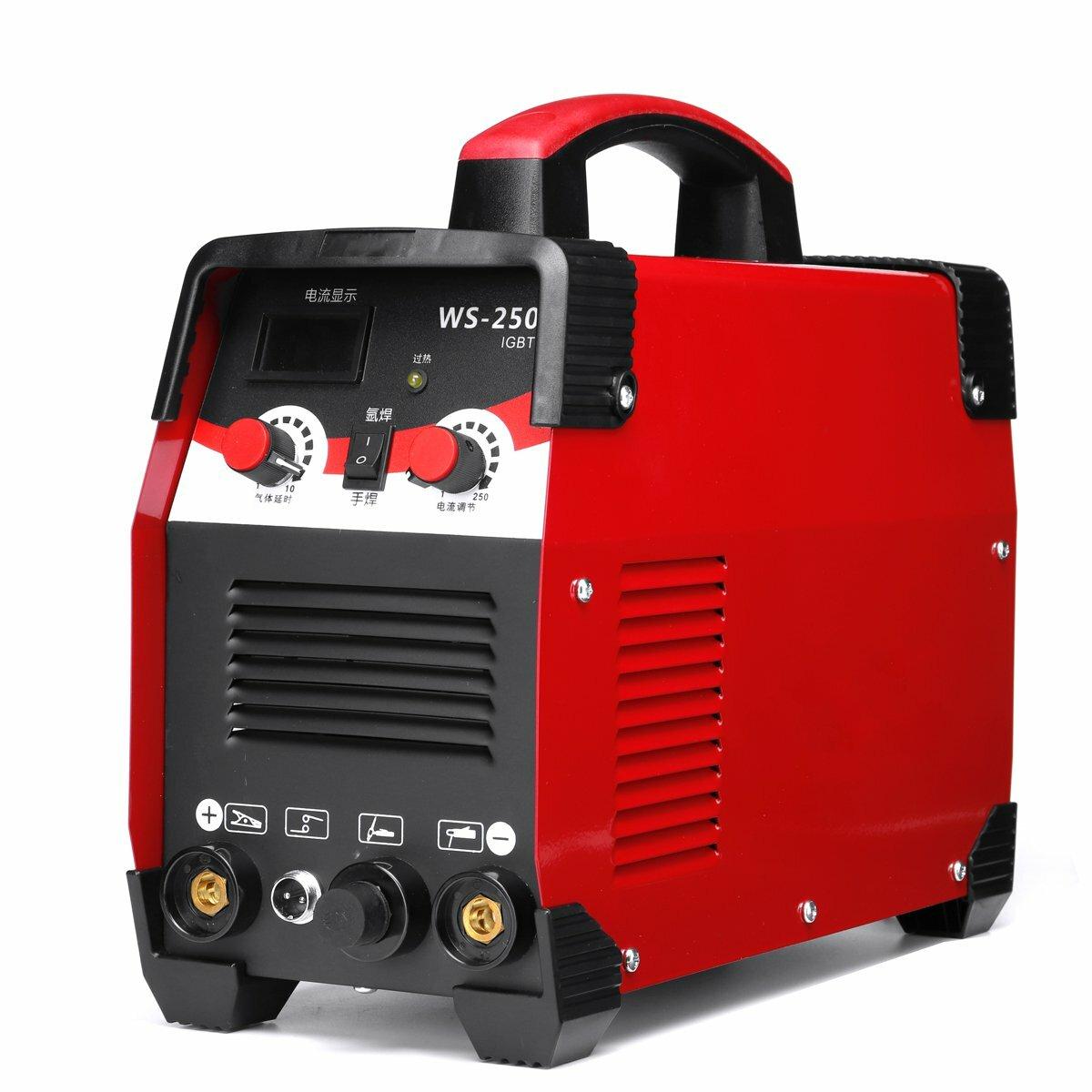 220V 7700W 2 في 1 TIG ARC آلة لحام كهربائي 20-250A MMA IGBT عصا العاكس