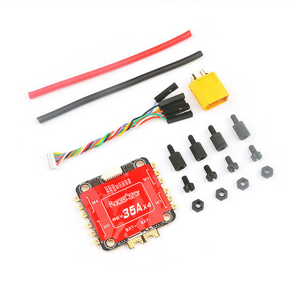 Anniversary Special Edition Racerstar REV35 35A BLheli_S 3-6S 4 In 1 ESC Built-in Current Sensor for RC Drone