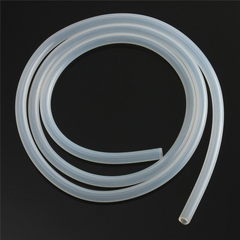 1m Length Food Grade Translucent Silicone Tubing Hose 1mm To 8mm Inner Diameter Tube