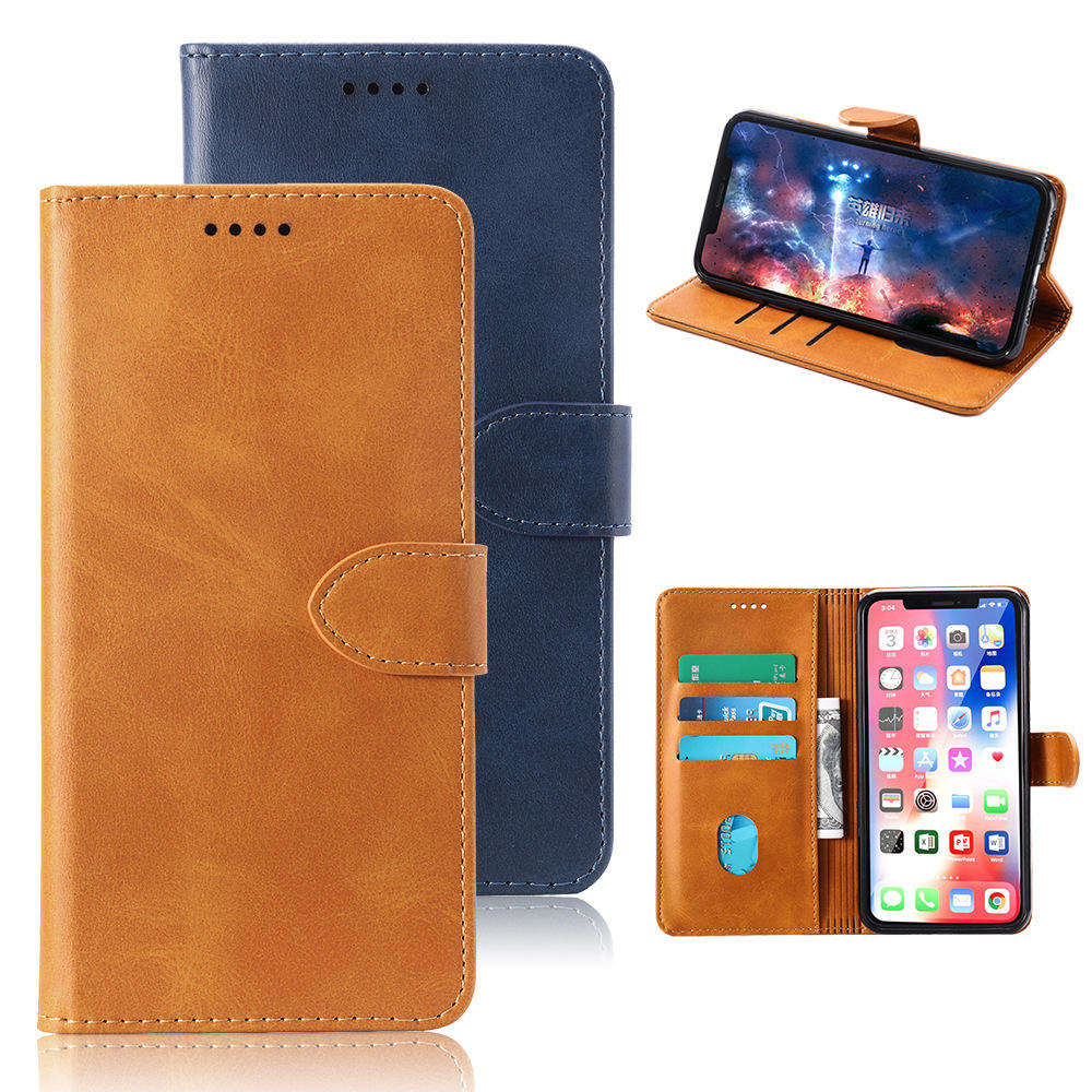 Bakeey Flip Card Slot Wallet Shockproof PU Leather Full Body Protective Case For UMIDIGI A5 PRO