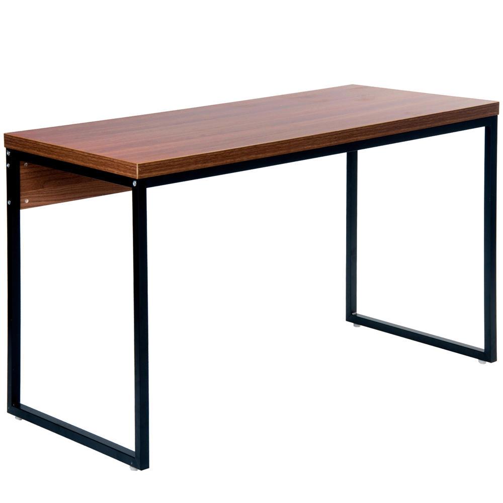 Merax Oficina Escritorio de madera Mesa de ordenador Ordenador portátil Ordenador portátil Muebles de oficina en casa Puesto de trabajo