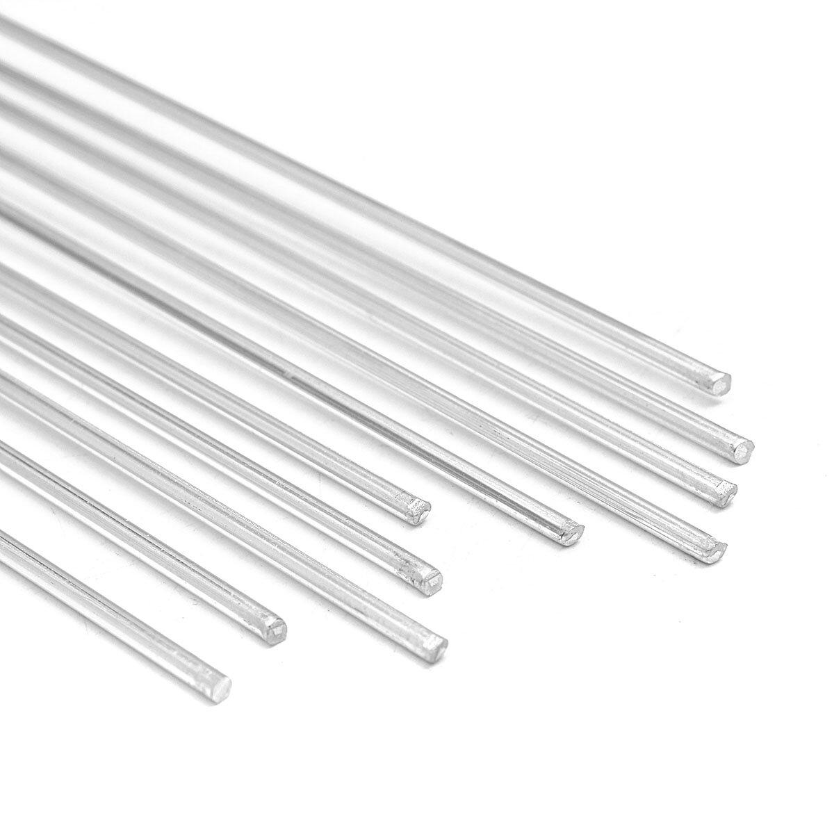 10個2mm直径35cm 13.8インチアルミニウム溶接棒ワイヤー電極