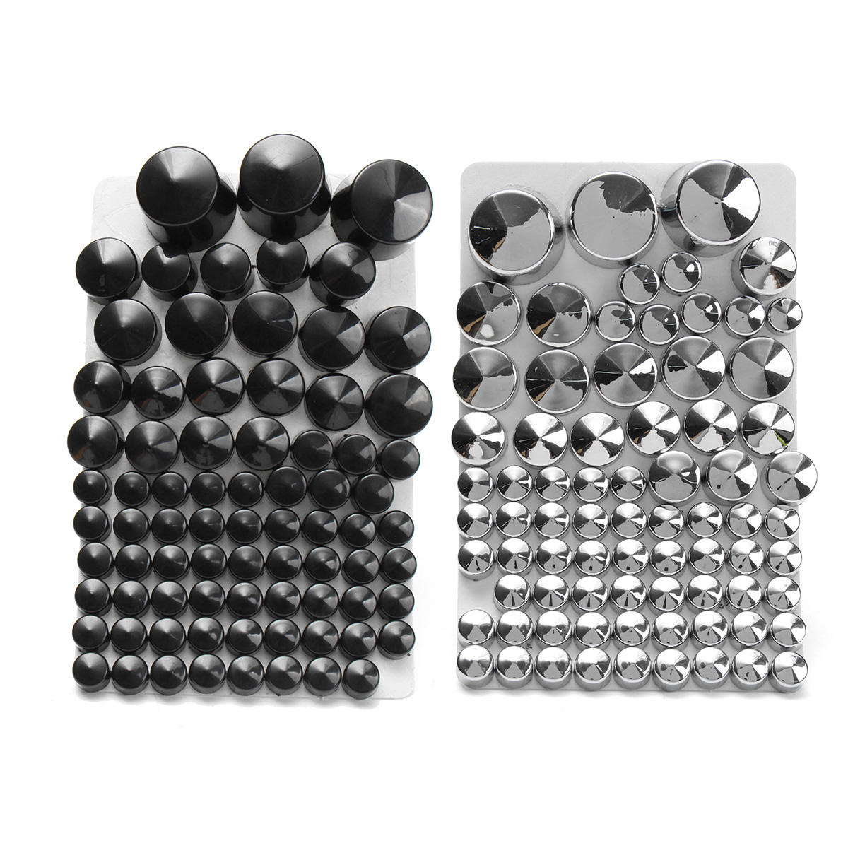 87pcsToppers Bolt Cap ABS Pour Harley Davidson Softail Twin Cam 1984-2006
