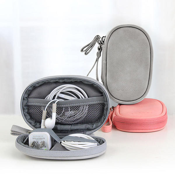 Men And Women Digital Electronic Accessories Mini Blutooth Earphone Storage Bags