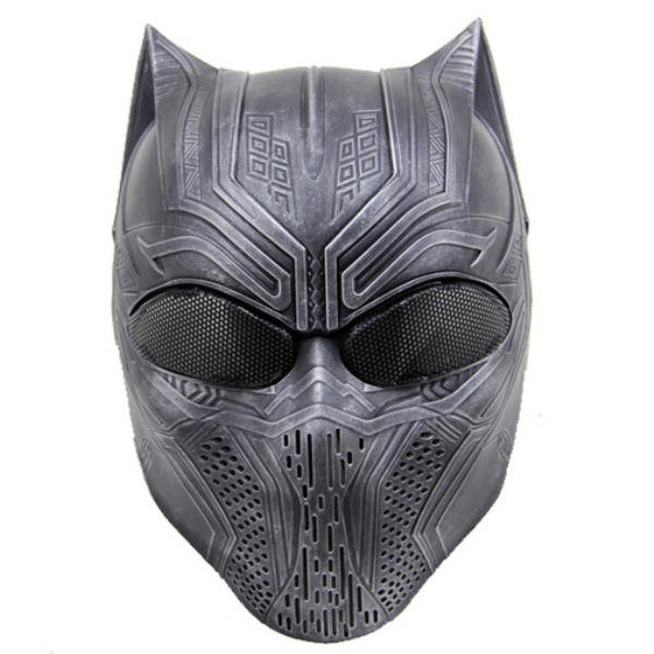 Panther Skull Mask Halloween pour Cosplay Military CS Airsoft Skull Paintball War Game