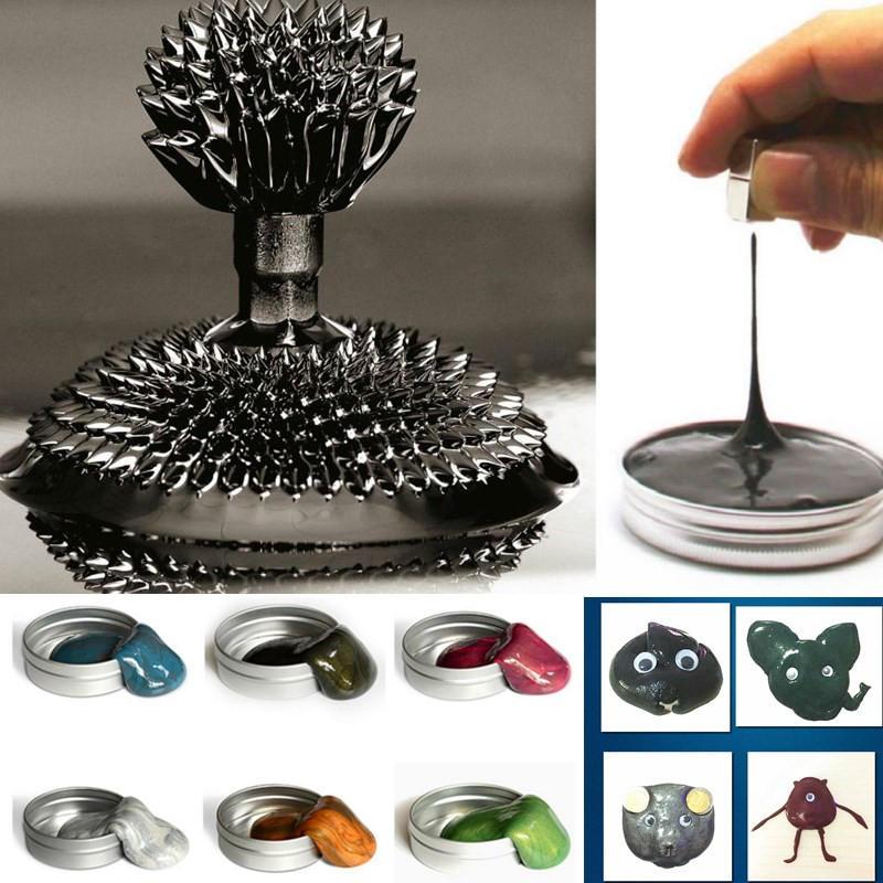 Plastilina Magnetica Fango di Mastice Creta per Modellare Fluido Denso di Ferro Giocattolo di Magnete