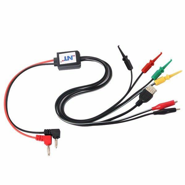 Mobile Phone Repair Tools Stromversorgungskabel DC Stromversorgung Telefon Strom Testkabel mit USB Ausgang für iPhone Sony Samsung